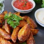knusprige Ofenkartoffelecken