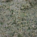 Chickpeas, parsley, cilantro dough for Falafel balls